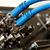 wideo · szczegóły · odizolowany · biały · technologii · niebieski - zdjęcia stock © d13