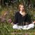 йога · кобра · создают · женщину · зеленая · трава · парка - Сток-фото © d13