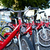 fiets · parkeren · stad · abstract · zomer · teken - stockfoto © d13