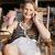 jonge · aantrekkelijke · vrouw · ontspannen · ligstoel · zonnebril - stockfoto © d13