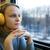 прослушивании · любимый · музыку · серьезный · девушки · наушники - Сток-фото © d13