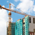 строительство · крана · строительная · площадка · безоблачный · небе · город - Сток-фото © d13