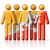 pessoas · bandeira · Butão · isolado · branco · multidão - foto stock © daboost