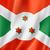 bandeira · Burundi · dois · ondulado · bandeiras · isolado - foto stock © daboost