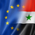 europe and syria flag stock photo © daboost