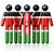 flag of kenya on stick figure stock photo © daboost