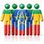 flag of ethiopia on stick figure stock photo © daboost