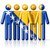personas · bandera · Bosnia · Herzegovina · aislado · blanco · multitud - foto stock © daboost