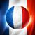 サッカーボール · フランス · フラグ · ピッチ · サッカー · 世界 - ストックフォト © daboost