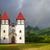 教会 · フランス語 · 空 · 建物 · クロス · 夏 - ストックフォト © daboost