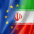 europe and iran flag stock photo © daboost