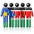 personas · bandera · Sudáfrica · aislado · blanco · reunión - foto stock © daboost