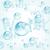 blu · vettore · gocce · d'acqua · set · primavera · luce - foto d'archivio © dahlia
