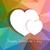 kleurrijk · harten · geometrisch · patroon · vector · meetkundig · driehoek - stockfoto © dahlia