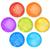 vektor · szett · szivárvány · vízfesték · körök · absztrakt - stock fotó © dahlia