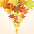 ベクトル · 抽象的な · 秋 · 自然 · 光 · 葉 - ストックフォト © Dahlia
