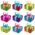 vector set of gift boxes stock photo © Dahlia
