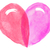 watercolor heart for valentines day vector stock photo © dahlia