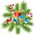 Natale · palla · impiccagione · blu · abete · rosso · ramo - foto d'archivio © dahlia