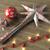3d · render · ezüst · csillag · golyók · karácsony · dekoráció - stock fotó © danilo_vuletic