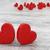 gyönyörű · romantikus · valentin · nap · piros · szívek · fából · készült - stock fotó © danilo_vuletic