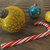 3d · render · citromsárga · arany · ünnep · dekoráció · cukorka - stock fotó © danilo_vuletic