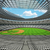 3D render of baseball stadium with white seats and VIP boxes stock photo © danilo_vuletic