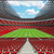3d · render · futball · futball · stadion · piros · vip - stock fotó © danilo_vuletic