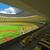 3d · render · baseball · stadion · citromsárga · vip · dobozok - stock fotó © danilo_vuletic