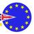Egyesült · Királyság · EU · zászlók · festett · repedt · beton - stock fotó © danilo_vuletic
