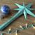 3d · render · kék · csillag · golyók · karácsony · dekoráció - stock fotó © danilo_vuletic