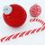 3d · render · gyönyörű · piros · ünnep · díszítések · cukorka - stock fotó © danilo_vuletic