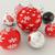 3d · render · piros · feketefehér · ünnep · dekoráció · nem - stock fotó © danilo_vuletic