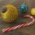 3d · render · mavi · altın · tatil · dekorasyon · şekerkamışı - stok fotoğraf © danilo_vuletic