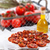 gedroogd · tomaten · olijfolie · achtergrond · groene · plaat - stockfoto © dar1930