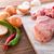 carne · abstrato · fundo · cozinha · verde - foto stock © Dar1930