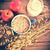drogen · müsli · vintage · stijl · voedsel - stockfoto © Dar1930