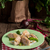 főtt · töltött · konyha · olaj · vacsora · tányér - stock fotó © dar1930