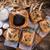 gebak · spinazie · vulling · zwarte · komijn · voedsel - stockfoto © Dar1930