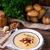 Картофельный · суп · домашний · бекон · служивший · итальянский - Сток-фото © dar1930