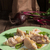 piquant pierogi with beetroot and cheese filling stock photo © dar1930