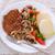 steak with green salad stock photo © dar1930