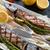 ızgara · uskumru · kuşkonmaz · balık · restoran · yeşil - stok fotoğraf © dar1930
