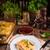 готовый · пасты · еды · итальянской · кухни · Лазанья - Сток-фото © dar1930