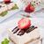 bianco · cioccolato · cheesecake · fetta · alimentare · dolce - foto d'archivio © dar1930