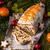 christmas · heerlijk · marsepein · cookies · vruchten · beker - stockfoto © dar1930