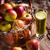 manzana · hojas · aislado · blanco · superior · vista - foto stock © dar1930