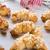 vla · amandel · croissant · vulling · beker · koffie - stockfoto © dar1930