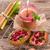 rhubarbe · canneberges - photo stock © Dar1930