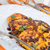traditional polish pumpkin yeast pancakes racuchy stock photo © dar1930